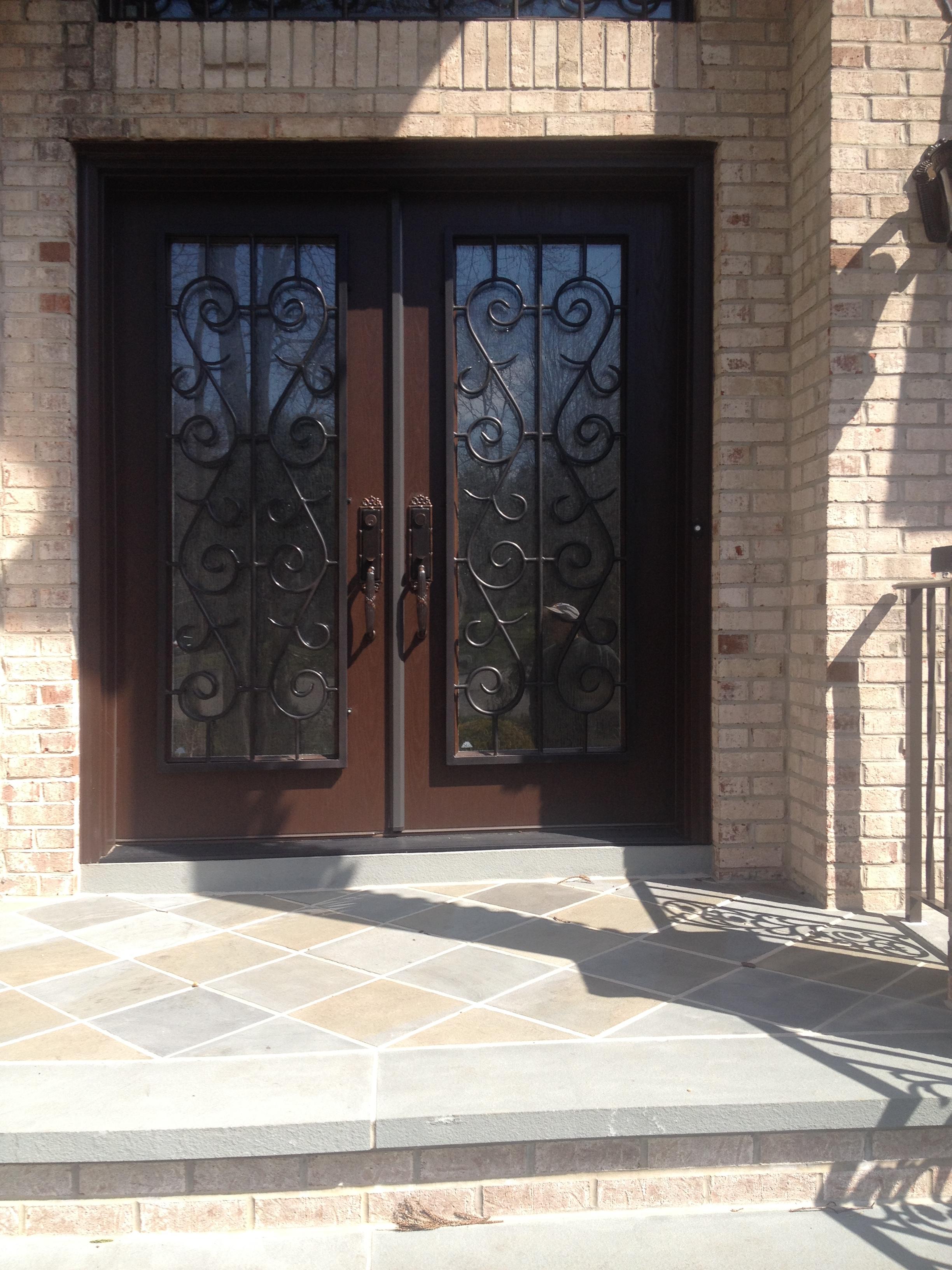 3264 #8B7040 Doors & More: Englishtown Brick Marlboro Freehold NJ: Wood Doors  save image Exterior Doors Discount 45272448